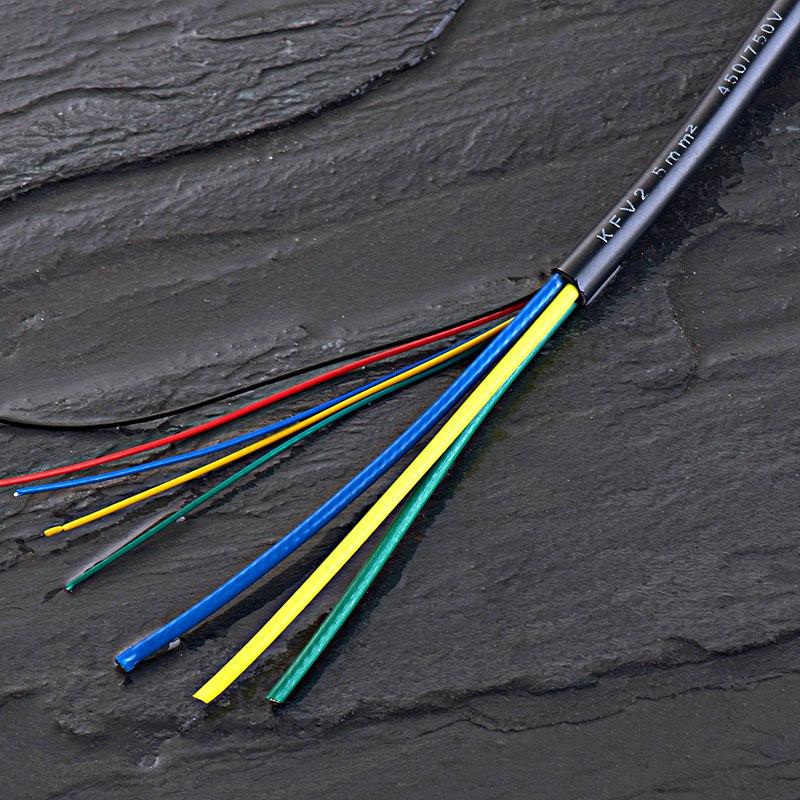 铁氟龙八芯线